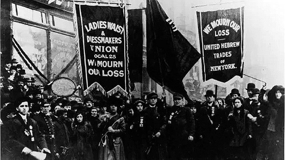Today in women's and labor history: Triangle sweatshop fire kills 146