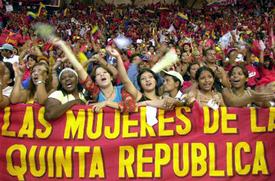 Women propel Venezuelas revolution forward