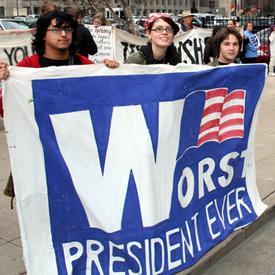Opposition to Iraq war surges