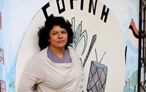 New York City protesters demand justice for slain Honduras activist Berta Cáceres