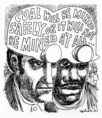 CARTOON: Coal will be mined safely