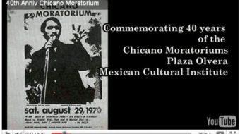 VIDEO: Celebrating 40 years of Chicano Moratorium