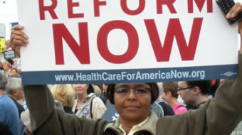 1500 rally for health care in St. Louis