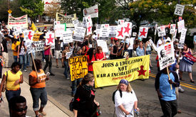 SLIDESHOW Before G20, Pittsburgh marches for jobs