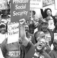 The battle to defend Social Security