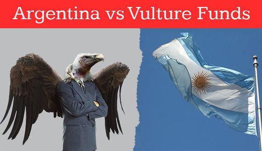 U.S. vultures circle Argentina, demand repayment of odious debt