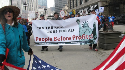 Campaign targets tax breaks for rich investors