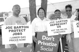 Joe Barton — always Big Oil's man — from the archives