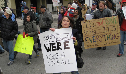 Occupy Detroit: End foreclosures now!