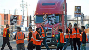 L.A. port truckers win again, misclassified as independent contractors