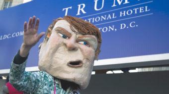 Billionaire Trump fleeces workers, small businesses