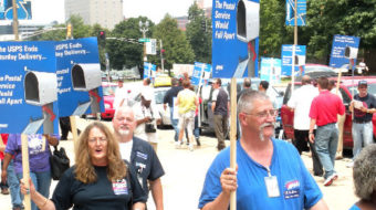 Rally slams move to end Saturday mail service