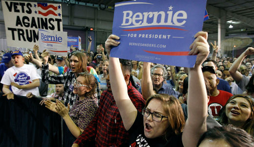 Why Bernie should stay in the race