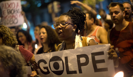 Brazil coup a plot to cover up corruption among the plotters?