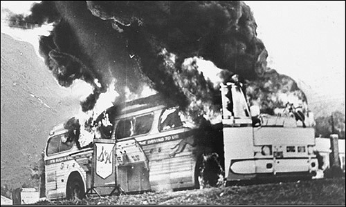 Today in labor history: Freedom Riders attacked in Alabama