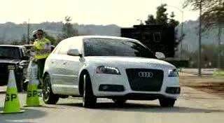 Audi green police ad ignites controversy
