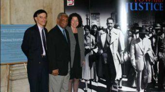 Landmark desegregation decisons made by U.S. Supreme Court