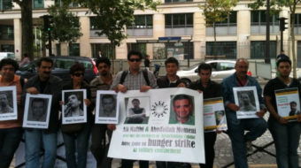 Appeal for support for Iran hunger strikers