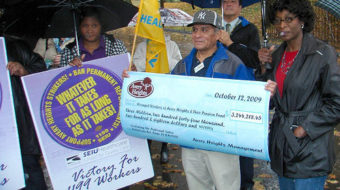 Hartford workers win back pay