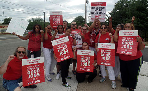 Verizon continues to demand givebacks from workers