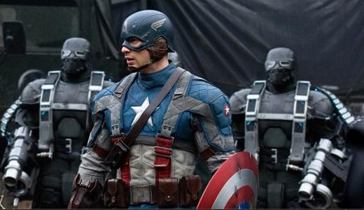 Captain America's star-spangled banter