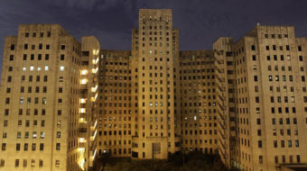 Hospital ruins stir Katrina memories and call to battle
