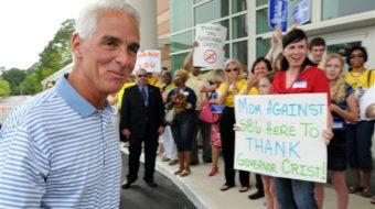 Florida gov. vetoes anti-teacher bill