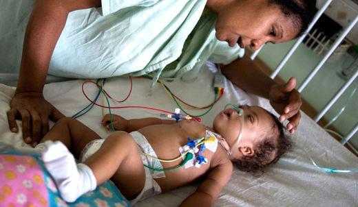 U.S. blockade of Cuba puts children at risk