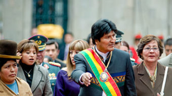 Bolivians vote to keep Morales