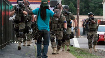 """Out of mouths of babes: """"It seems like police are about to go to war with the people"""""""