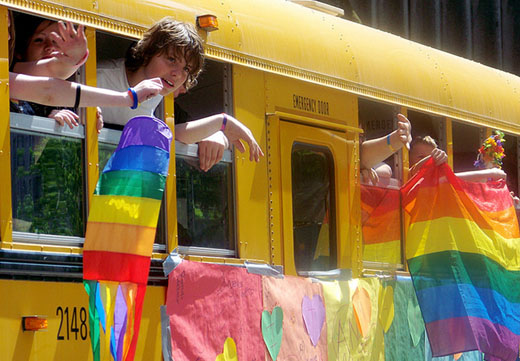 Gay and straight teens less likely to commit suicide in liberal areas