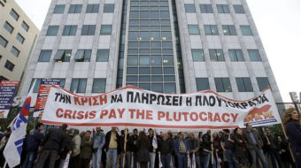 General strike paralyzes Greece