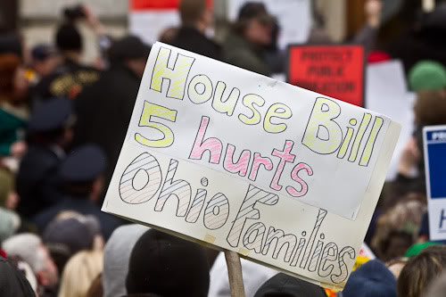 """GOP backs down on """"right to work"""" in two states"""