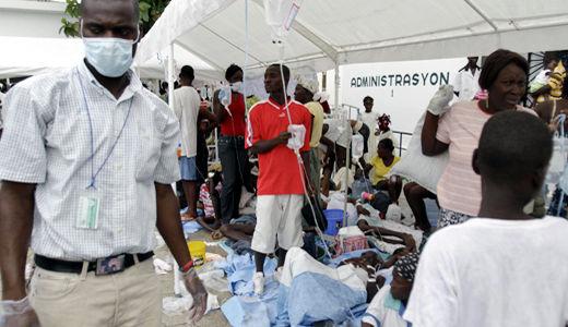 Dangerous cholera outbreak in Haiti