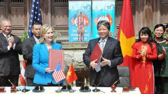 Clinton issues vague pledge on Vietnam's Agent Orange legacy