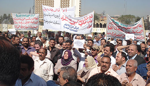 Iraqis wage grassroots fight for democracy