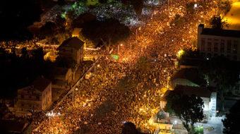 Massive protests shake up Israel