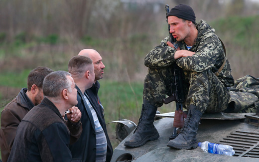Tensions high in Ukraine in spite of agreement