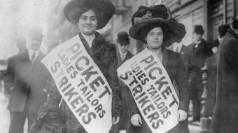 Today in women's history: National Women's Party protests workplace discrimination