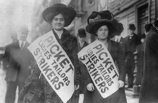 Today in labor history: Int'l Ladies Garment Workers Union founded