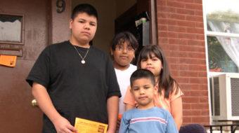 Latino children suffer most in foreclosure crisis, report says
