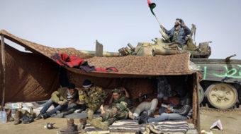 Killing Libya in order to save it