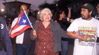 Lolita Lebron, Puerto Rico independence leader, dies at 90