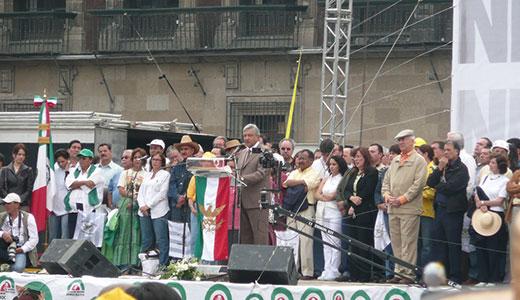 Lopez Obrador again runs for Mexico's top office