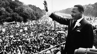 Dr. King spoke out against the genocide of Native Americans