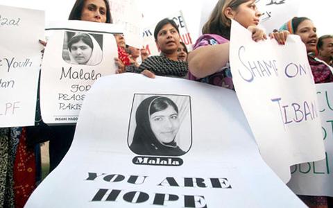 Pakistan rallies around Malala Yousafzai