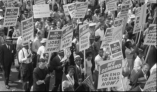 Today in labor history: March on Washington for Jobs and Freedom