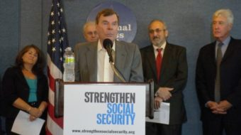 Unions join drive to save Social Security