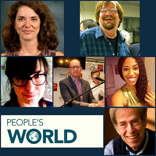 """""""People's World"""" names new top editors"""