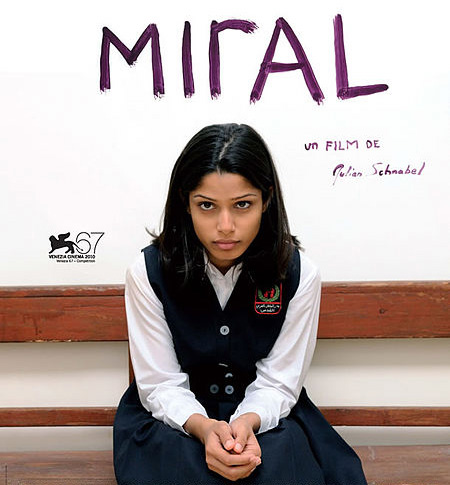"""""""Miral"""": controversial film paints Middle East mirage"""
